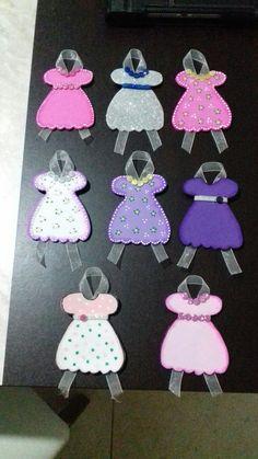 Distintivos de babyshower