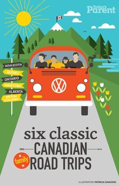 We criss-crossed Canada to find your favourite summer journeys. These routes won't break the bank and were designed with kids in mind. So pack up the car, get on the road and make some memories together—it's a great way to see the country. Road Trip With Kids, Family Road Trips, Travel With Kids, Family Travel, Banff, Cross Canada Road Trip, Canada Trip, Grand Canyon, Quebec Montreal