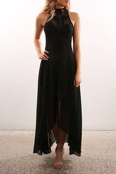 All I Ever Wanted Maxi Dress Black