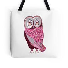 Pink Fern Owl