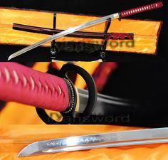 HIGH QUALITY CLAY TEMPERED 1095 HIGH CARBON STEEL JAPANESE SAMURAI KATANA SWORD