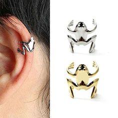 Large Gold Circle Drop Earrings - Big Hoop Earrings/ Sparkly Hoops/ Geometric Earrings/ Elegant Hoops/ Circle Earrings/ Gifts for Her - Fine Jewelry Ideas Big Earrings, Circle Earrings, Cuff Earrings, Gold Fashion, Fashion Jewelry, Golden Frog, Ear Cuff Jewelry, Magnetic Earrings, Frog Design