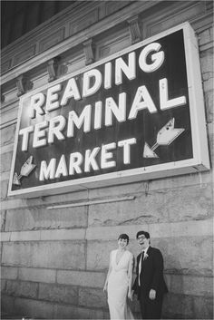 Reading Terminal Market, wedding