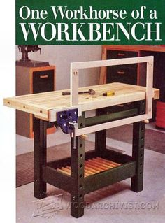 Workbench Plan - Workshop Solutions Plans, Tips and Tricks | WoodArchivist.com