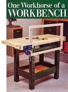 Workbench Plan - Workshop Solutions Plans, Tips and Tricks   WoodArchivist.com