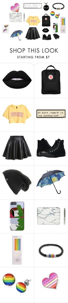 """""""dreamboard"""" by baba-shook ❤ liked on Polyvore featuring Lime Crime, Fjällräven, Converse, The North Face, PèPè and Bling Jewelry"""