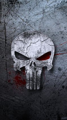 Customize your iPhone 6 with this high definition Punisher wallpaper from HD Phone Wallpapers! Punisher Tattoo, Punisher Logo, Punisher Skull, Punisher Marvel, Marvel Comics, Marvel Vs, Handy Wallpaper, Black Phone Wallpaper, Skull Wallpaper