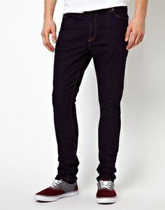 ASOS Super Skinny Jean In Indigo