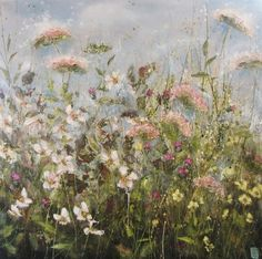 """""""As the sun arose on Chapel Point, wild roses showed their faces"""" by Marie Mills."""