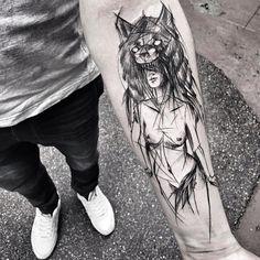 Tattoo art by Inez Janiak
