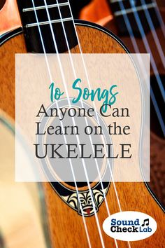 10 Songs Anyone Can Learn On The Ukelele – Sound Check Lab. 10 Songs Anyone Can Learn on the Ukelele. Playing the Uke is a fun way to get creative with music. Check out these 10 songs any ukelele beginner can get started on and be the life of the party. Easy Ukelele Songs, Ukulele Songs Beginner, Ukulele Chords Songs, Cool Ukulele, Ukulele Tabs, Hawaiian Ukulele, Maila, Music Lessons, Violin Lessons