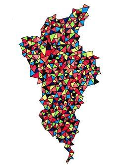 triangle pattern by yolanda
