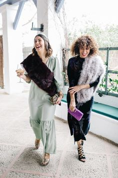 Invitada perfecta (II) by Por parte de la novia Glamour, Fur Coat, Jackets, Fashion, Lent, Parts Of The Mass, Blue, Boyfriends, Wedding