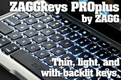 ZAGGkeys PROplus for iPad