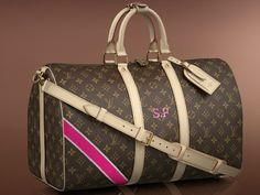 Molly ... for you ... gives the deets on how to order!  Louis Vuitton Mon Monogram Keepall 45 Bag
