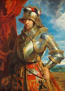 Maximilian I (1459 - 1519). Son of Frederick III and Eleanor of Portugal. He succeeded his father as Emperor.