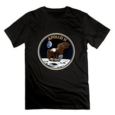 Jahei Custom NASA Apollo II Short Sleeve Shirt For Youth Black Small