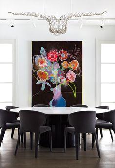 """Girafe"" The Luxury Restaurant by Top Architect Joseph Dirand Dining Room Art, Luxury Dining Room, Dining Room Design, Urban House, Luxury Restaurant, Room Interior Design, Interior Styling, Contemporary Interior, Decoration"