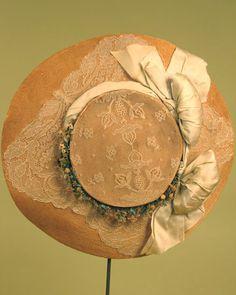 MME. Georgette Straw Hat, Paris, 1900-1910.