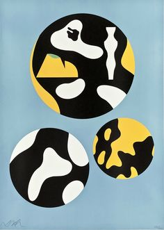 Hans Arp: Family of Stars, 1955. Artek Collection