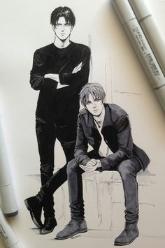 Levi and Eren | AoT |