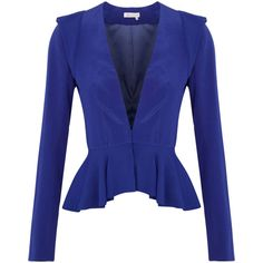 Project D Esmerelda Silk Crepe Jacket ($420) ❤ liked on Polyvore