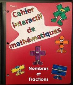 Ce cahier interactif de math est parfait pour exploiter les concepts mathématiques avec les élèves. Il permet de rendre les élèves responsables de leurs apprentissages. Il permet aussi aux élèves d'organiser leur cahier grâce à la table des matières.