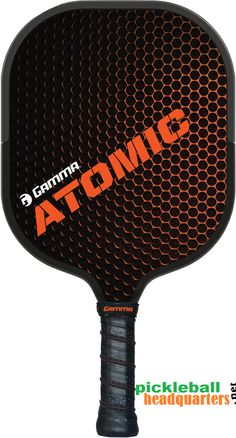 Pickleball Headquarters - Gamma Atomic Pickleball Paddle , $89.95 (http://www.pickleballhq.net/gamma-atomic-pickleball-paddle/)