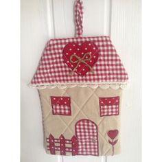 """Presina """"casa dolce casa"""" red collezione Angelica Home & Country"""
