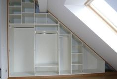 Unbelievable Attic Storage Containers Ideas 3 Stupendous Diy Ideas: Old Attic Knee Walls attic apartment mezzanine.Attic Balcony Beams attic balcony second story. Attic Bedroom Designs, Attic Design, Closet Bedroom, Attic Apartment, Attic Rooms, Attic Spaces, Apartment Therapy, Attic House, Attic Closet