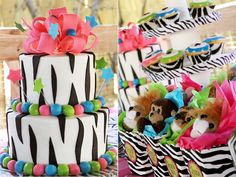 a zebra inspired zoo party? awesome!!
