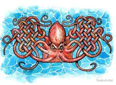 woven octopus