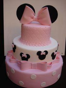 New Birthday Cake Fondant Ideas Minnie Mouse Ideas Minnie Mouse Theme Party, Minnie Mouse Birthday Cakes, Minnie Mouse Baby Shower, Mickey Cakes, Minnie Mouse Cake, Cake Birthday, Minie Mouse Party, Bolo Mickey, Iftar