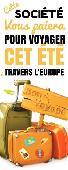 Vous avez peut-être envie d'économiser de l'argent ? Ou peut-être de partir en voyage / vacance avec le moins de dépenses possible ? Un voyage peut être difficile à planifier – et a un coût non négligeable. Voici une opportunité ! Cette société vous propose de vous offrir votre voyage en Europe. Tous les frais sont payés. Si vous avez envie de découvrir toute l'Europe gratuitement, et de passer des vacances inoubliables, alors vous devriez postuler. #voyage #voyagerseule #europe #vacances…
