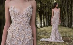 New Masterpieces by Paolo Sebastian: Beautiful Haute Couture Dresses 2017 Sexy Dresses, Nice Dresses, Prom Dresses, Formal Dresses, Disney Wedding Dresses, Wedding Gowns, Paolo Sebastian Wedding Dress, Vestidos Sexy, Haute Couture Dresses