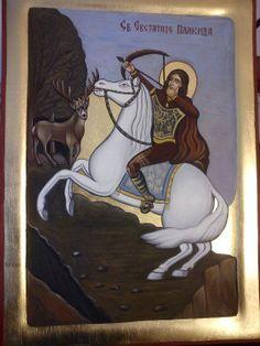 Sveti Evstatije Ikon, Saints, Painting, Art, Art Background, Painting Art, Kunst, Paintings, Performing Arts
