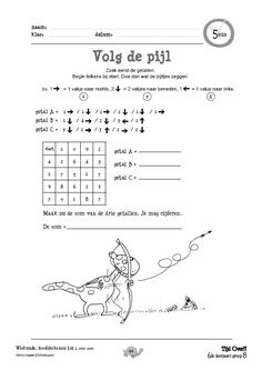 Volg de pijl First Grade, Teaching, School, Counting, Kids, Index Cards, Young Children, Boys, First Class