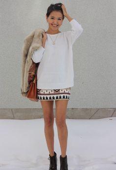 Spring!  , Zara in Skirts