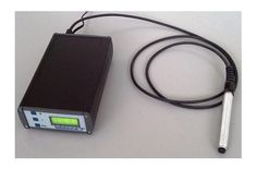 Data logger for analog signals measured by the HTProbe humidity and temperature sensor