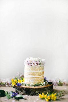 Decoração de bolos com flores de verdade | Vídeos e Receitas de Sobremesas