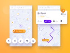 Navigation for active people by Adrian Reznicek