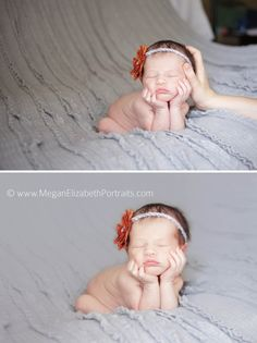 Did you know this is the only safe way to get this newborn shot?  More safety tips for your newborn session from Megan Elizabeth Portraits.