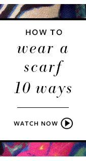 How to wear a scarf 10 ways - www.stelladot.com/alicetegtmeier #scarf #stelladot #stelladotstyle