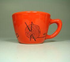 knit + coffee = heaven