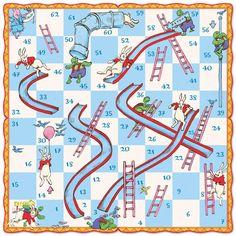 Kid games 444730531952011143 - Slips & Ladders Board Game, eeBoo Source by breiznamako Board Game Template, Printable Board Games, Snakes And Ladders Template, Snakes And Ladders Printable, Board Game Design, English Games, Classic Board Games, Board Games For Kids, Game Boards