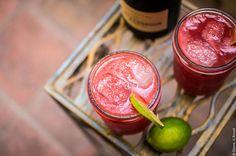 Wassermelonen-Champagner.