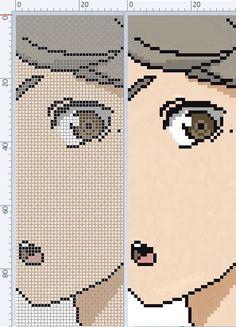 Minecraft Pixel Art, Minecraft Projects, Minecraft Ideas, Cross Stitch Embroidery, Cross Stitch Patterns, Pixel Art Grid, Pixel Art Templates, Anime Pixel Art, Alpha Patterns