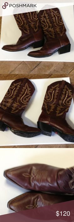 Justin Cowboy Boots Great condition. No major flaws Justin Boots Shoes