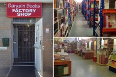 Bargain Books - Cape Town factory shops - Photos by Rachel Robinson