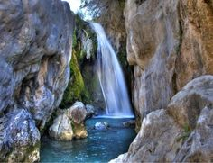 The waterfall of Algar are an incredible sight, it also shows a different, cooler, quieter side of Spain. Definity worth a visit.